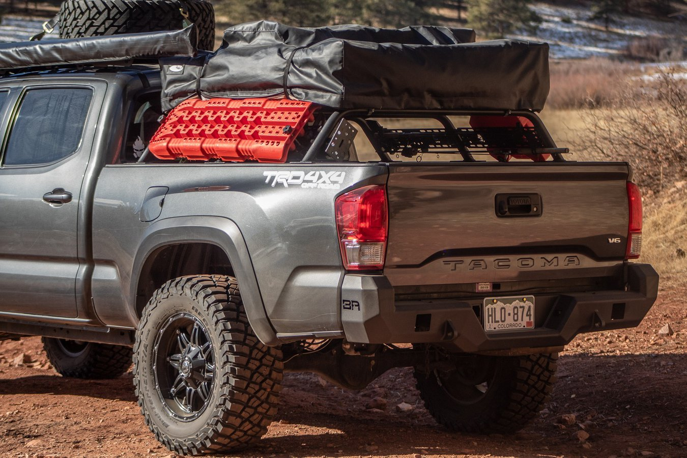 Tacoma Bed Bars For Better Gear Staching Roundforge
