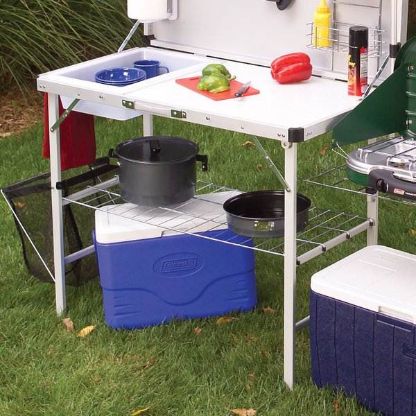 Camp Kitchen With Sink: Coleman Pack-Away Deluxe Camp Kitchen With Sink Review