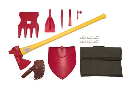 lighweight shovel axe kit
