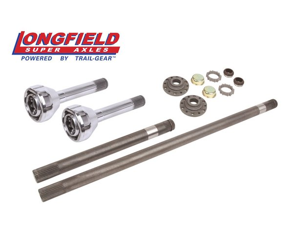 trail gear longfield superset axles, hub gears, an drive flanges