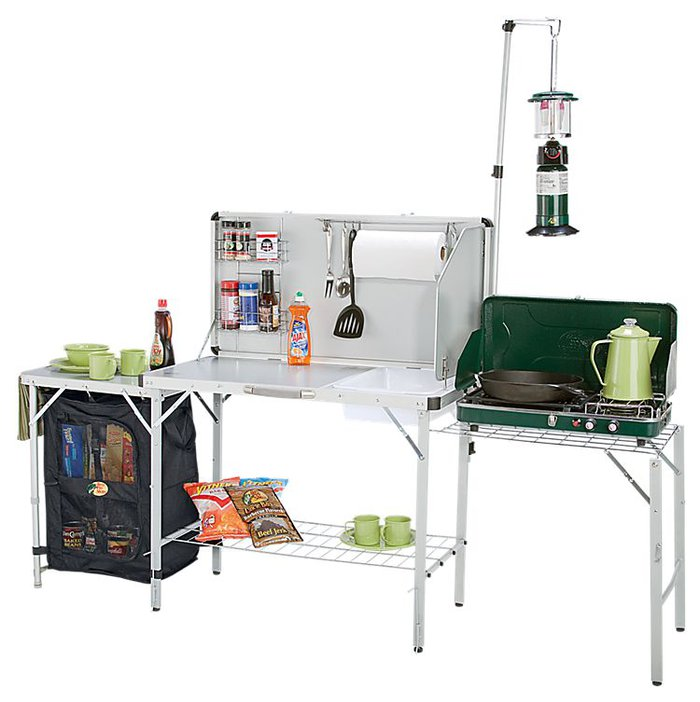 Camp Kitchen With Sink: Bass Pro Shops Deluxe Camp Kitchen With Sink Review