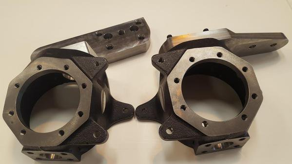 hellfire fabworks knuckle pair with steering arms