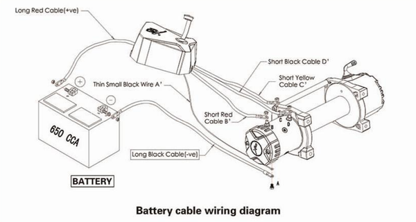 smittybilt 97495 xrc winch 9500 lb load capacity strong and rh roundforge com smittybilt xrc 10 winch wiring diagram smittybilt 9500 winch wiring diagram