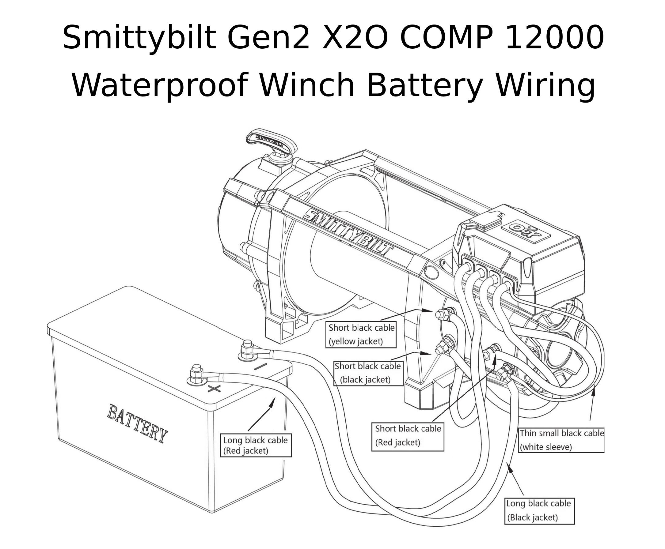 Complete Specs Smittybilt Gen2 X2o Comp 12000 Waterproof
