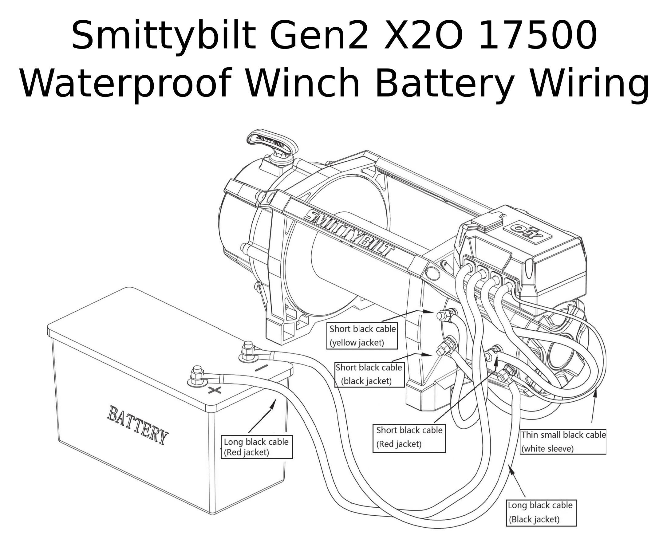 Complete Specs Smittybilt Gen2 X2o 17500 Waterproof Winch 97517 Roundforge
