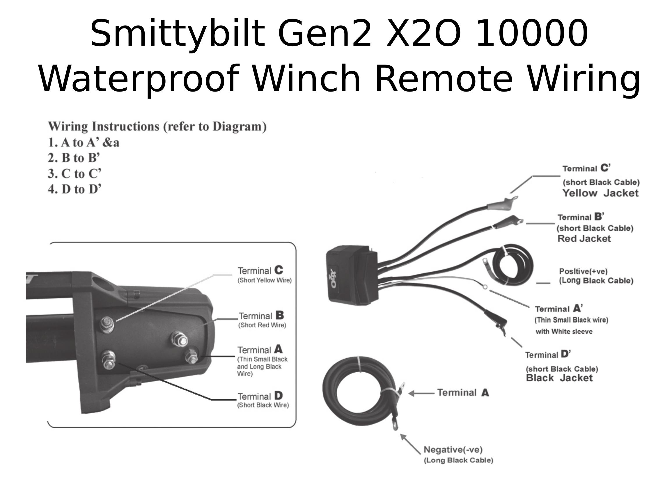 Complete Specs  Smittybilt Gen2 X2o 10000 Waterproof